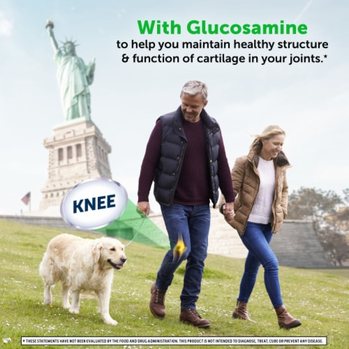 Schiff Glucosamine Plus MSM Joint Care Coated Tablets Perspective: top