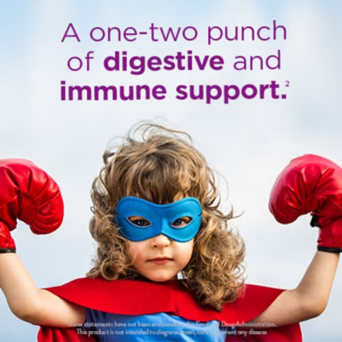 Digestive Advantage KIDS Prebiotic Fiber + Probiotic Digestive Health Gummies 65 Count Perspective: top