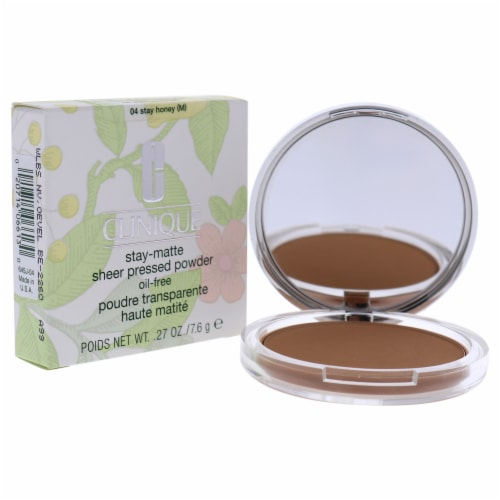 Stay-Matte Sheer Pressed Powder - # 04 Stay Honey M - Dry Combination To Oily Perspective: top