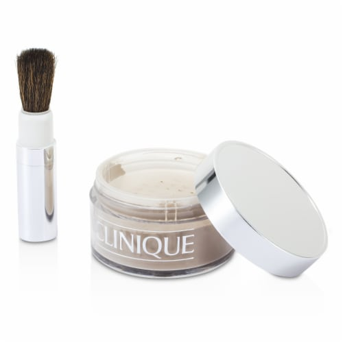Clinique Blended Face Powder + Brush  No. 20 Invisible Blend 35g/1.2oz Perspective: top