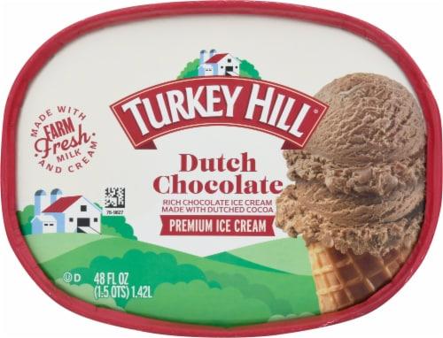 Turkey Hill® Dutch Chocolate Ice Cream Perspective: top