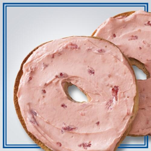 Philadelphia Strawberry 1/3 Less Fat Cream Cheese Perspective: top