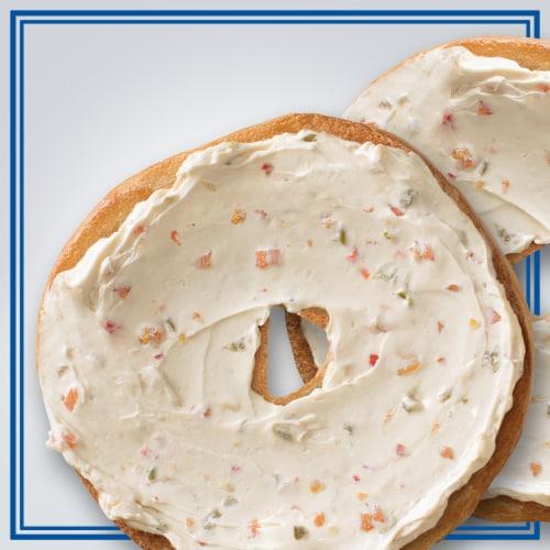 Philadelphia Garden Vegetable 1/3 Less Fat Cream Cheese Perspective: top