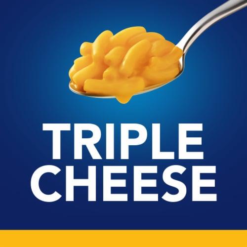 Kraft Easy Mac Triple Cheese Macaroni & Cheese Dinner Cups Perspective: top