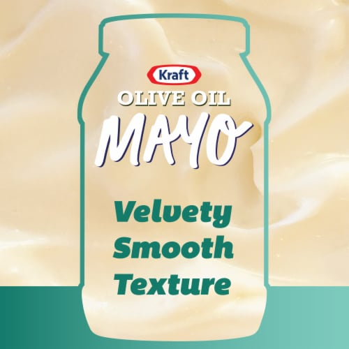 Kraft Olive Oil Mayonnaise Perspective: top