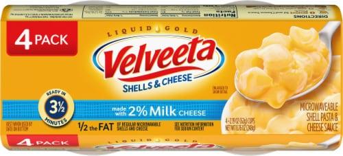 Velveeta Shells & Cheese Cups Perspective: top