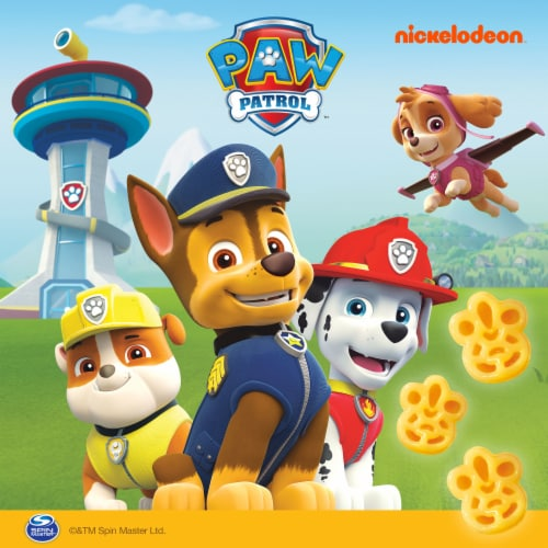 Kraft Paw Patrol Shapes Macaroni & Cheese Dinner Cups Perspective: top