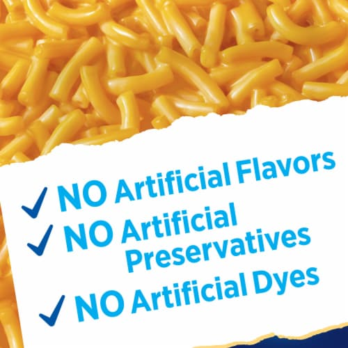 Kraft Gluten Free Macaroni & Cheese Dinner Perspective: top