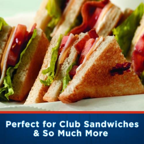 Kraft Deli Deluxe American Cheese Slices Perspective: top