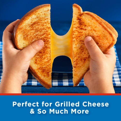 Kraft Singles American Cheese Slices Perspective: top