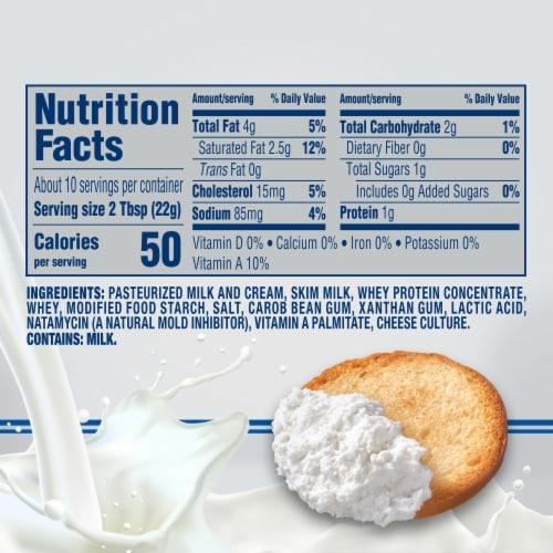 Philadelphia Original Whipped Cream Cheese Spread Perspective: top