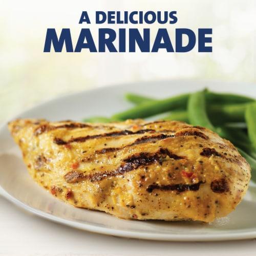 Kraft Zesty Italian Fat-Free Dressing Perspective: top