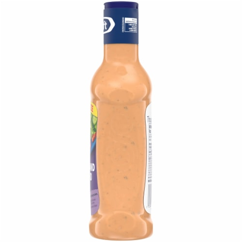 Kraft Thousand Island Dressing Family Size Perspective: top