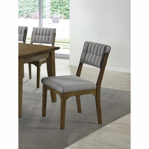 Coaster Home Furnishings Rayleene Tufted Back Side Dining Room Chairs (Set of 2) Perspective: top