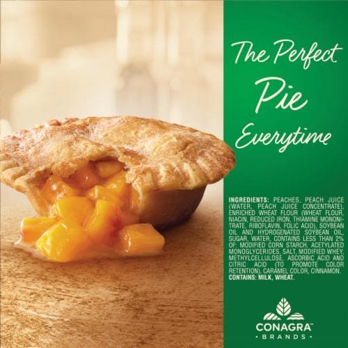 Marie Callender's Peach Pie Perspective: top