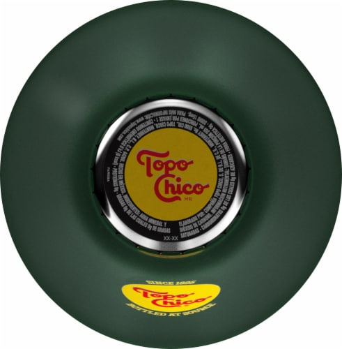 Topo Chico Carbonated Mineral Water Perspective: top