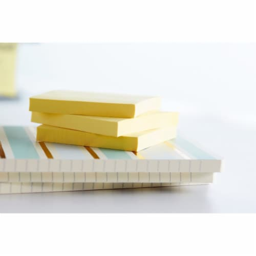 Post-it® Notes - Canary Yellow - 4 pk Perspective: top