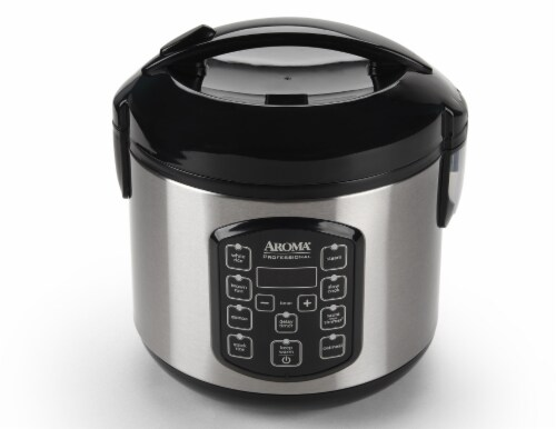 Aroma® Professional Digital Rice and Multi-Cooker Perspective: top