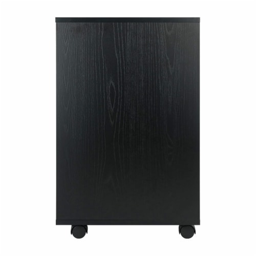 Halifax Cabinet for Closet / Office, 5 Drawers, Black Perspective: top