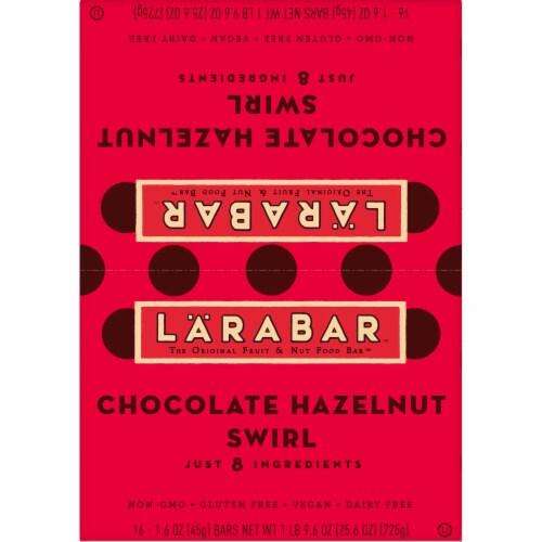 Larabar Chocolate Hazelnut Swirl Fruit & Nut Bars Perspective: top