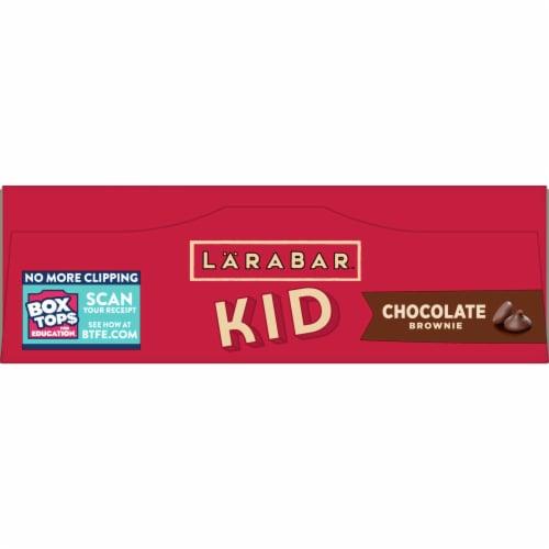 Larabar Kid Chocolate Brownie Bars Perspective: top