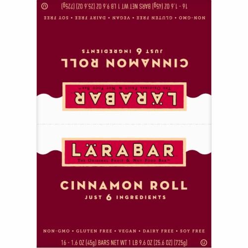 Larabar Cinnamon Roll Fruit & Nut Bars Perspective: top