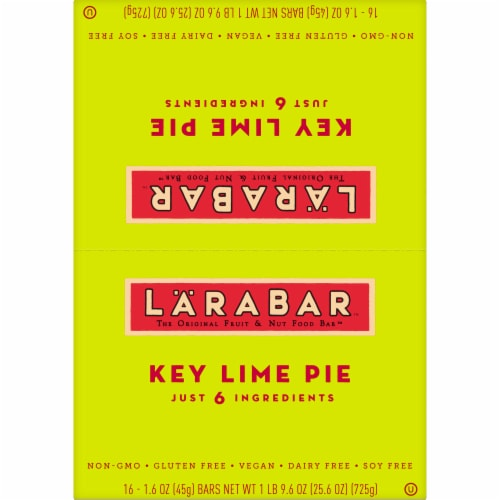 Larabar Key Lime Pie Fruit & Nut Bars Perspective: top