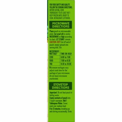 Cascadian Farm Premium Organic Cut Spinach Perspective: top