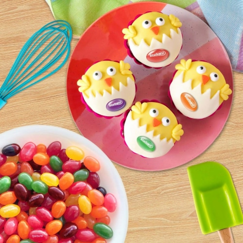Starburst Original Jelly Beans Chewy Easter Candy Bag Perspective: top