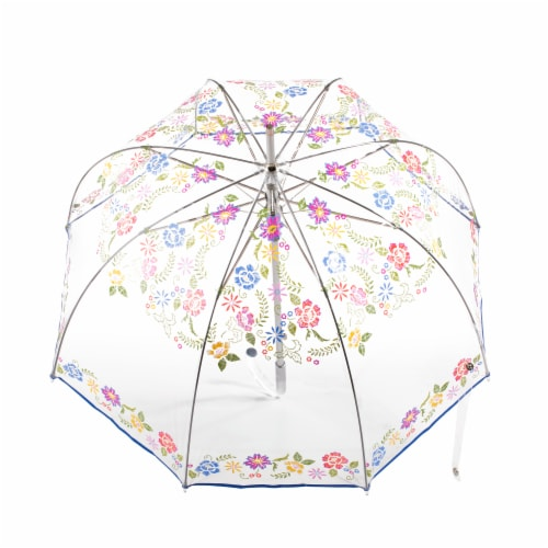 Totes Clear Bubble Umbrella Perspective: top