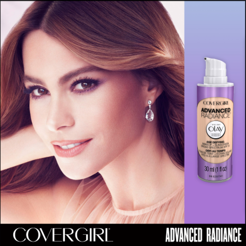 CoverGirl 120 Creamy Natural Advanced Radiance Age-Defying Makeup Perspective: top