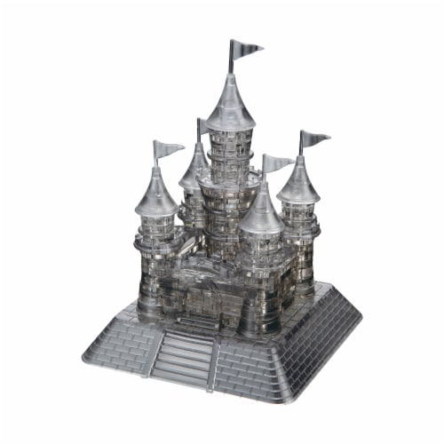 BePuzzled 3D Castle Crystal Puzzle Perspective: top
