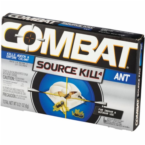 Combat Source Kill 0.21 Oz. Solid Ant Bait Station (6-Pack) DIA 45901CT Perspective: top