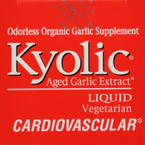 Kyolic Aged Garlic Extract Cardiovascular Perspective: top