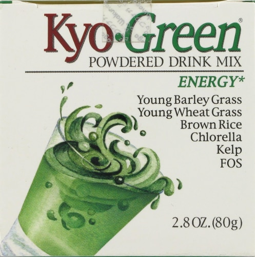 Kyolic Kyo-Green Energy Powdered Drink Mix Perspective: top