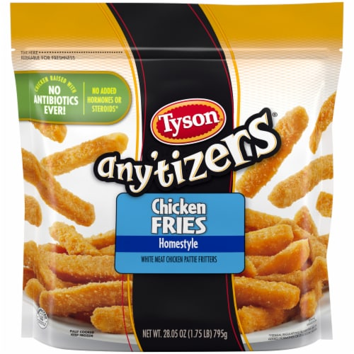 Tyson® Any'tizers® Homestyle Chicken Fries Perspective: top