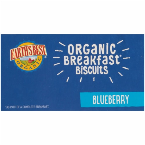 Earth's Best Sesame Street Blueberry Oat Organic Breakfast Biscuits Perspective: top