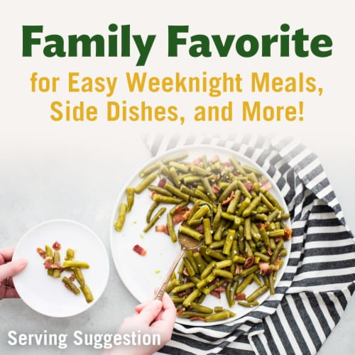Del Monte Fresh Cut Blue Lake Green Beans Perspective: top