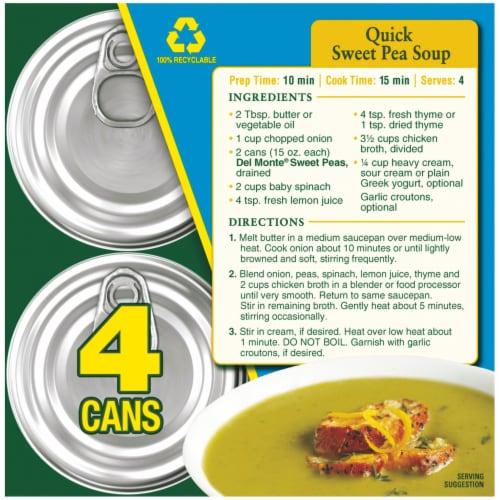 Del Monte® Fresh Cut® Sweet Peas Value Pack Perspective: top
