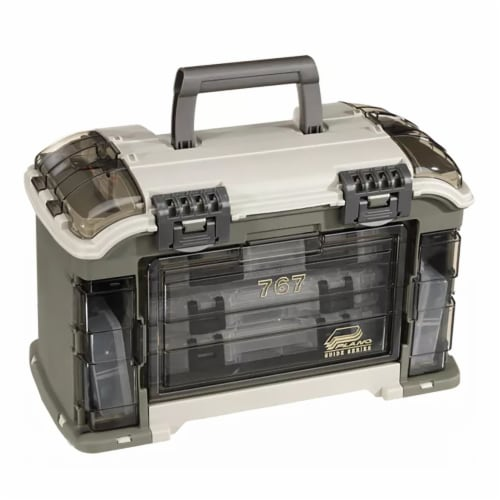 Plano Guide Series Angled StowAway Rack Tackle Box System for Fishing Storage Perspective: top