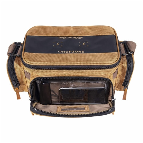 Plano Guide Series 3500 Tackle Bag and Utility Storage Case with Magnetic Top Perspective: top