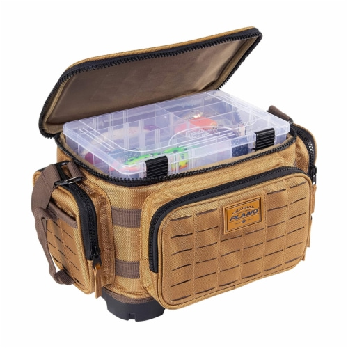 Plano Guide Series 3600 Tackle Bag and Utility Storage Case with Magnetic Top Perspective: top