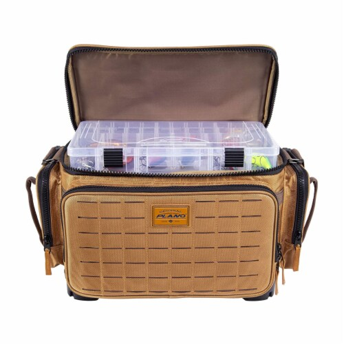 Plano Guide Series 3700 Tackle Bag and Utility Storage Case with Magnetic Top Perspective: top