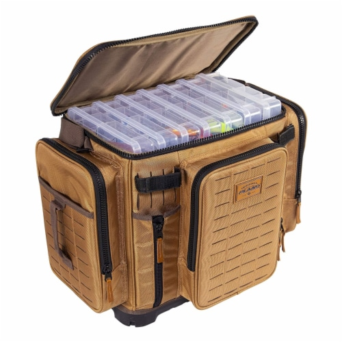 Plano Guide Series 3700 XL Tackle Bag and Utility Storage Case with Magnetic Top Perspective: top