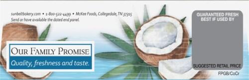 Sunbelt Bakery Natural Coconut Cream Chewy Granola Bars Perspective: top