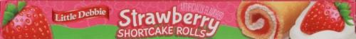 Little Debbie Strawberry Shortcake Rolls Perspective: top