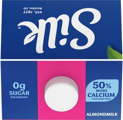 Silk Unsweet Vanilla Almondmilk Perspective: top