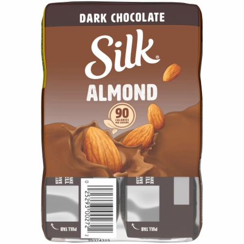 Silk Dark Chocolate Almond Milk Perspective: top