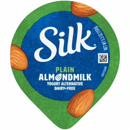 Silk®Plain Plain Almondmilk Yogurt Perspective: top