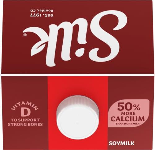 Silk Protein Original Soymilk Perspective: top